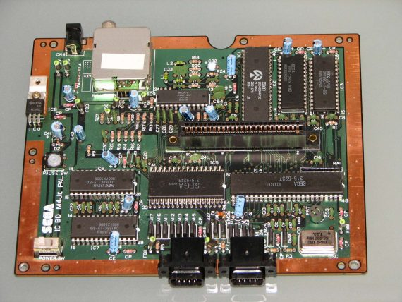 Placa Base (MotherBoard) Original Master System II Pal