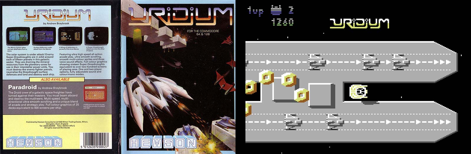 Uridium de Commodore 64